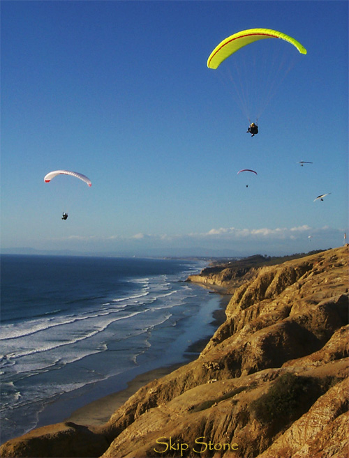 Hang Gliding at Torrey Pines, San Diego